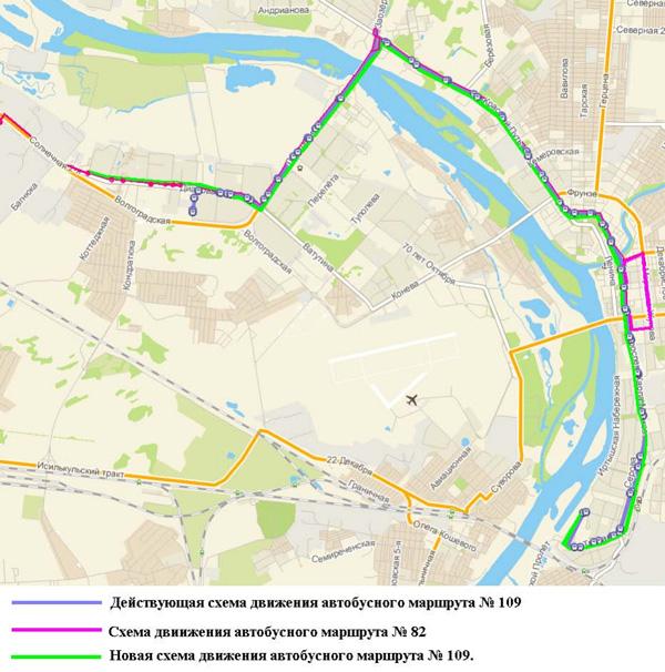 схема маршрута 109 белгород