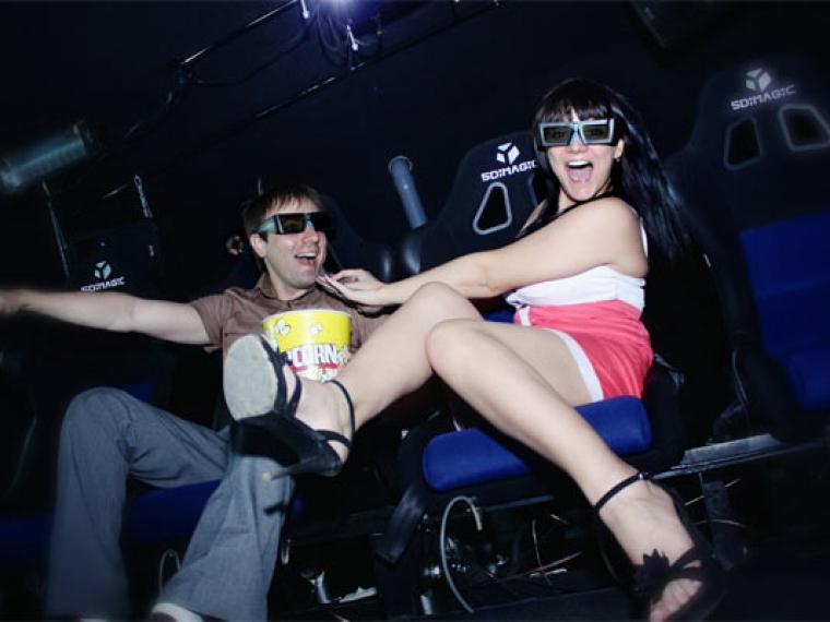 Парк 30-летия ВЛКСМ покажет омичам видео в формате 5D.