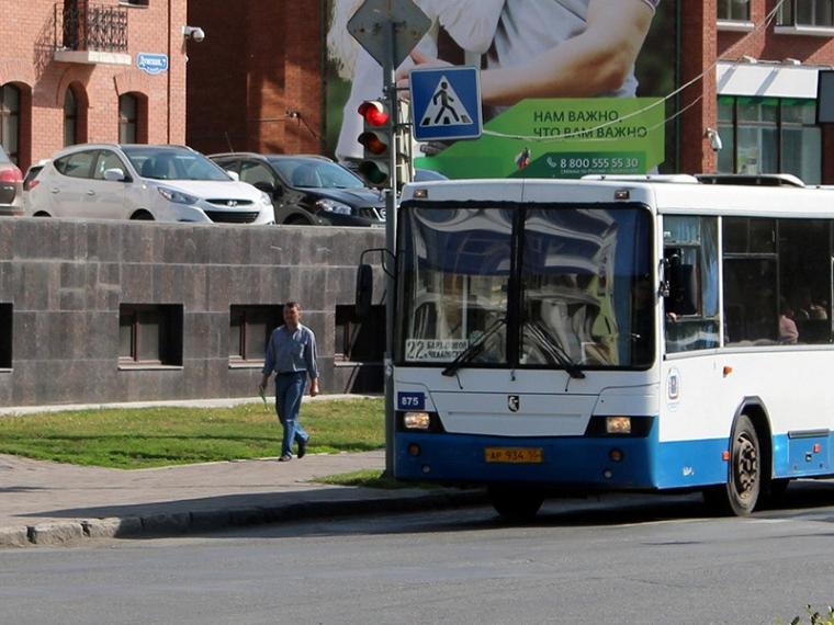 движения автобусов в День