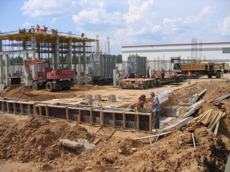 строительство производства