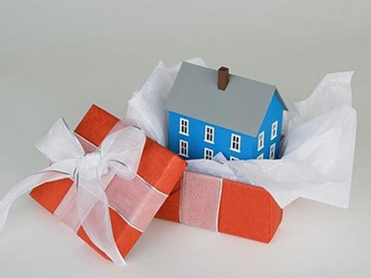 Для частного дома подарок 96