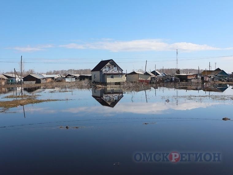 ВОмской области из-за паводка объявлен режим чрезвычайной ситуации