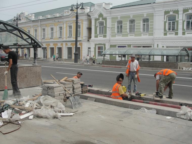 Основные работы на Любинском проспекте завершатся к 5 августа — «ИдеалСтрой» #Экономика #Омск