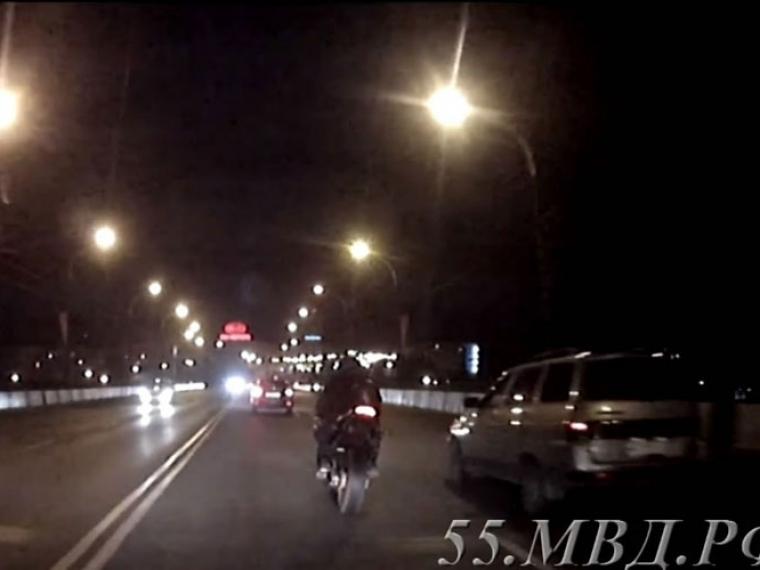 Омич схвачен занарушения ПДД наугнанном вИталии мотоцикле