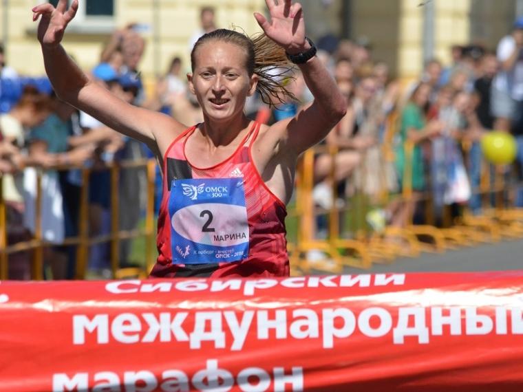 ВОмске победителями 27-го Сибирского марафона стали Андрей Брызгалов иМаксим Никольников