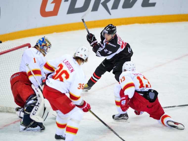 Финский «Йокерит» побуллитам проиграл «Авангарду»