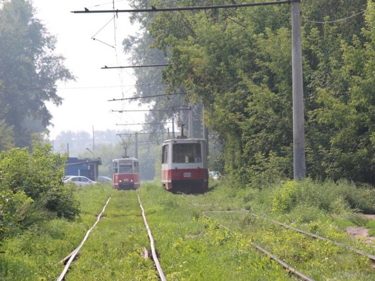 ВОмске изменят маршрут движения трамваев №4 и №8