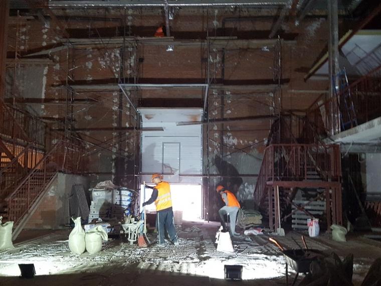 Основную часть реконструкции омской «Галерки» завершат внынешнем году