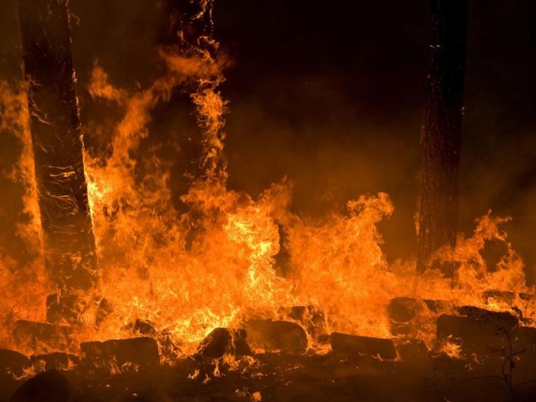 ВОмской области впроцессе пожара погибли два человека