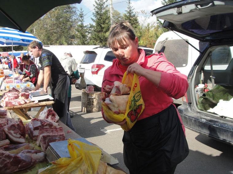 ВПерми Роспотребнадзор забраковал неменее 200кг мяса