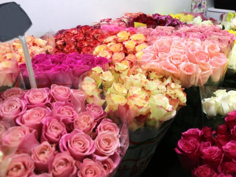 ВОмскую область невпустили практически 3 тонны цветов изЭквадора
