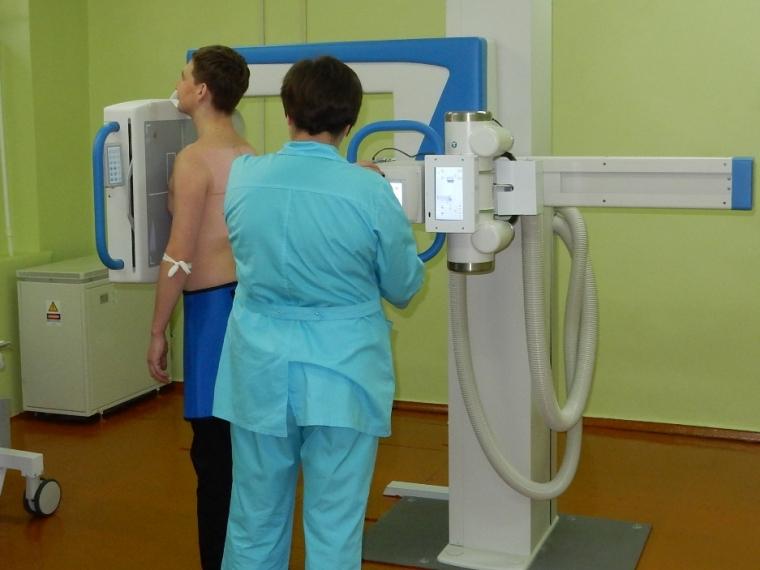 ВБСМП №2 установили новый рентген за13 млн руб.