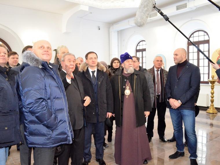 Мединский объявил, что вВоскресенском соборе вОмске бывал его предок