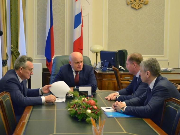Новый руководитель «МРСК Сибири» Иванов встретился сомским губернатором