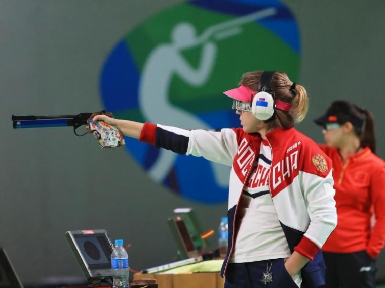 ЧемпиономРФ пострельбе изпневматического пистолета стал спортсмен изПриангарья