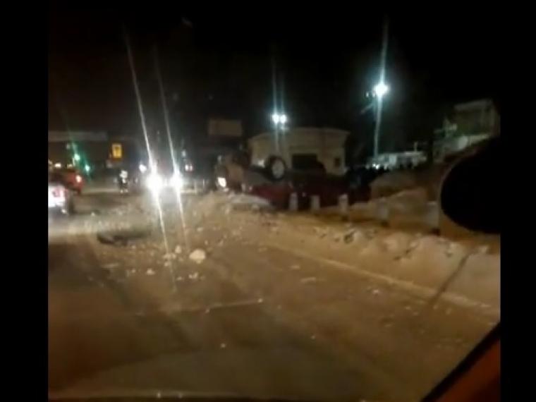 Нетрезвый шофёр «девятки» перевернул авто накрышу впроцессе погони