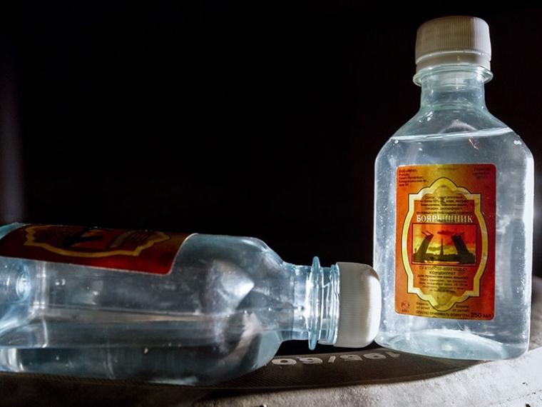 Вметиловый спирт посоветовали добавлять рвотное вещество