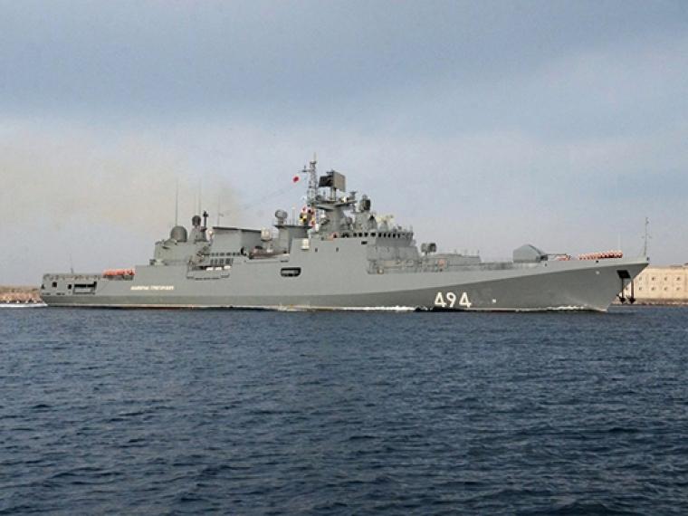 «Адмирал Григорович» пробудет вСредиземном море долета