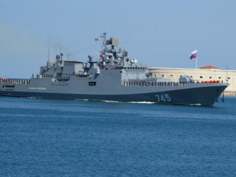 ВМФ Российской Федерации направило вСредиземное море сторожевой корабль «Сметливый»