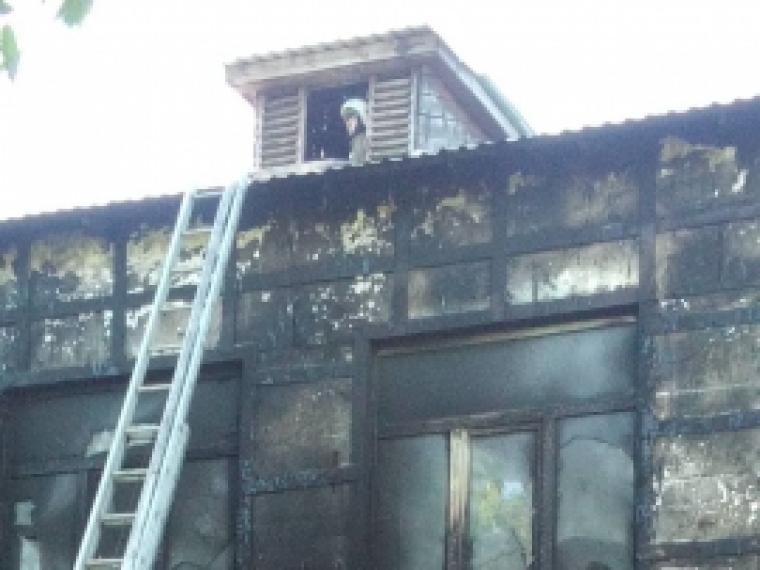 ВОмской области вдетском саду произошел пожар