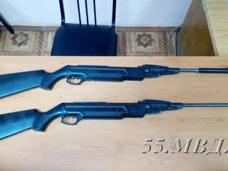 ВОмске подростки похитили винтовки иустроили стрельбу