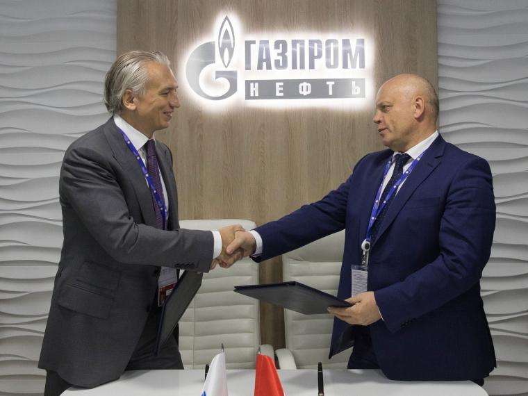 В северной столице Назаров подписал соглашение с«Газпром нефтью» попоставке битума