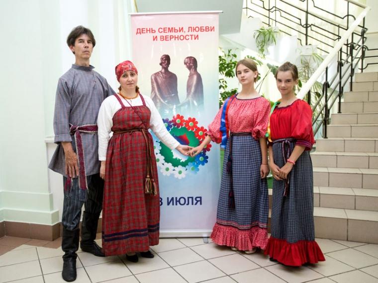 «Семья года» изСтарорусского района вышла влидеры навсероссийском конкурсе