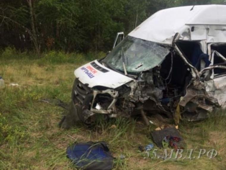 Семья из 5-ти человек погибла вДТП вОмской области