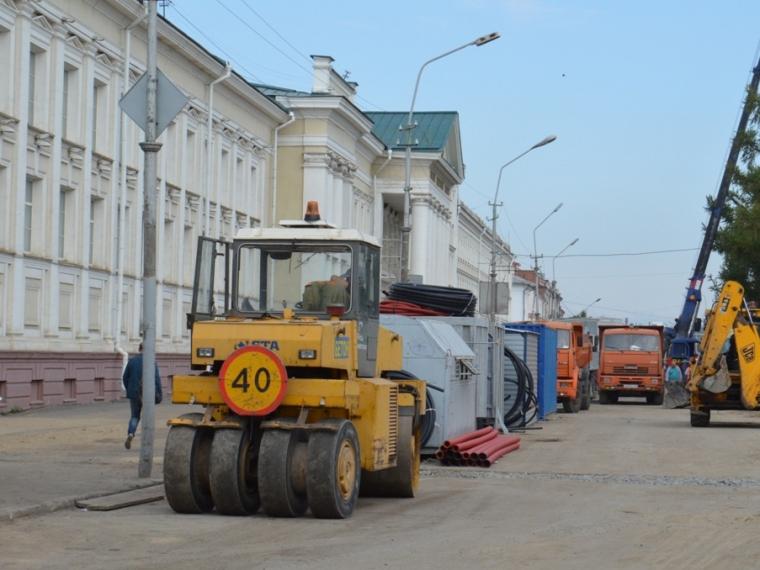 Улицу Ленина вОмске неуспеют открыть для движения к1сентября