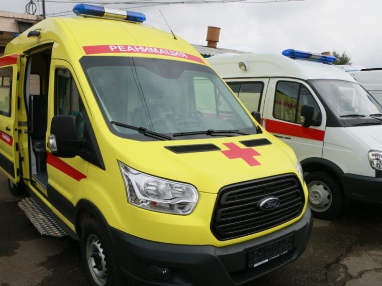 Наобновление автопарка скорой Омской области дали 90 млн руб.