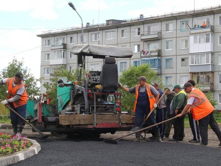 ВОмске наремонт тротуаров потратили 120 килотонн асфальта