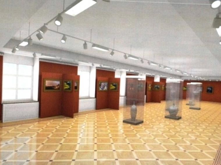 Власти Омска выделили средства напокупку мебели для отдела Эрмитажа