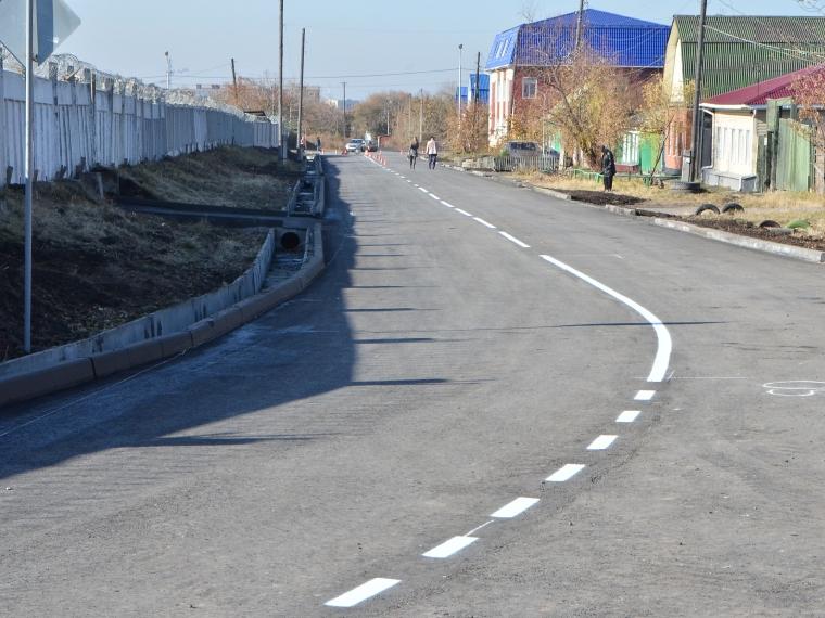 ВОмске построили 600 метров дороги за20 млн. руб.