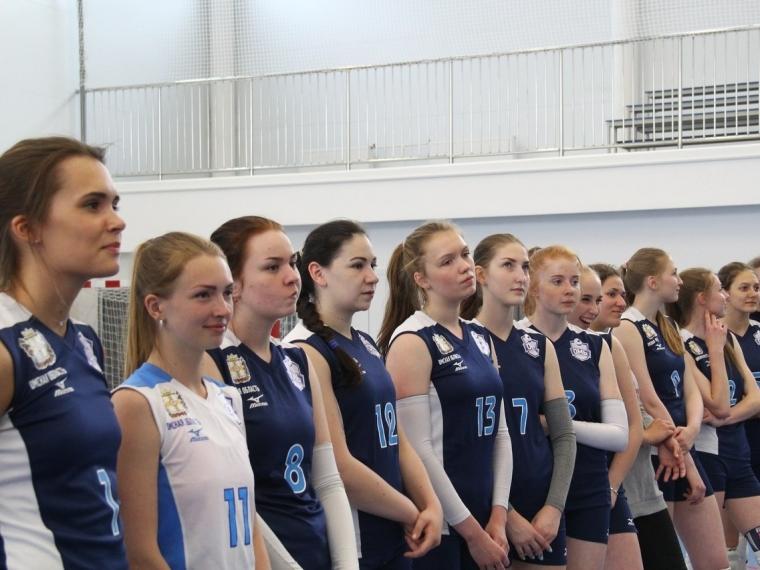 Волейболистки «Алтай-АГАУ» завершили 1-ый тур чемпионата Российской Федерации