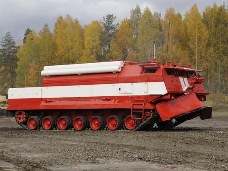 ВВО принял навооружение первую партию машин набазе танков