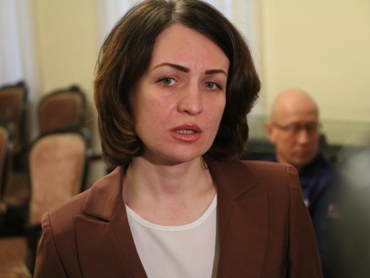 Министр экономики региона прошла собеседование в конкурсной комиссии на пост омского градоначальника.