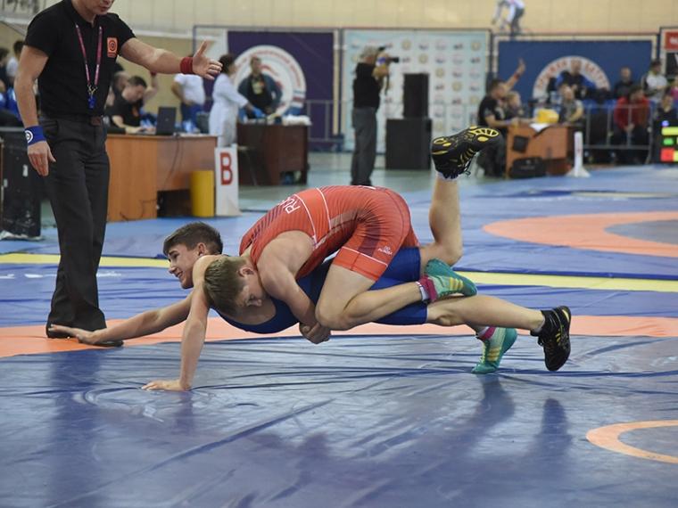 Ростовчане победили впервенстве Российской Федерации погреко-римской борьбе