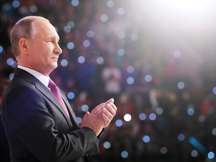 Владимир Путин объявил об участии в президентских выборах