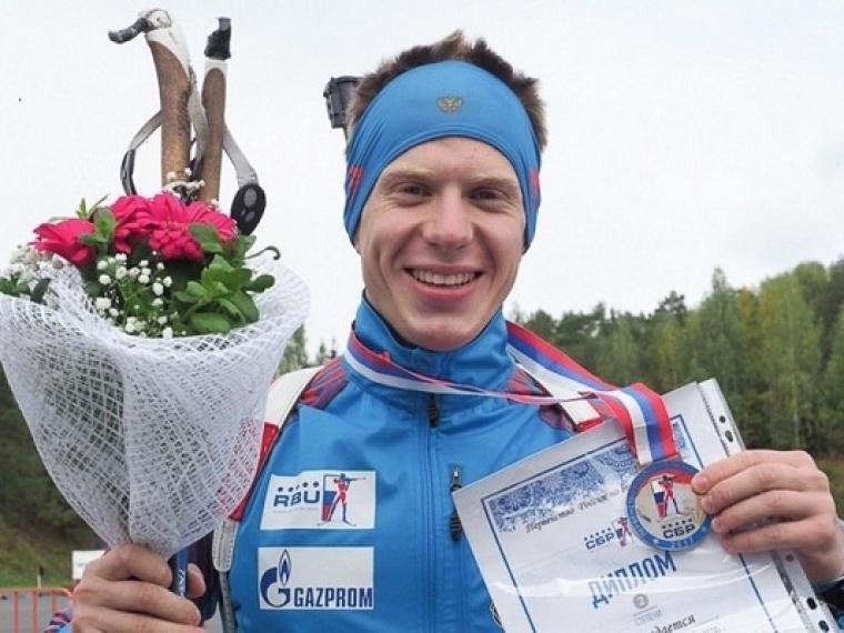 Омский биатлонист завоевал серебряную медаль напервенстве Российской Федерации