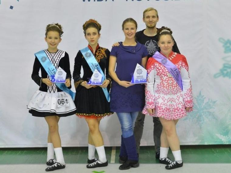 Омские «ирландцы» выиграли 42 награды чемпионата Сибири потанцам
