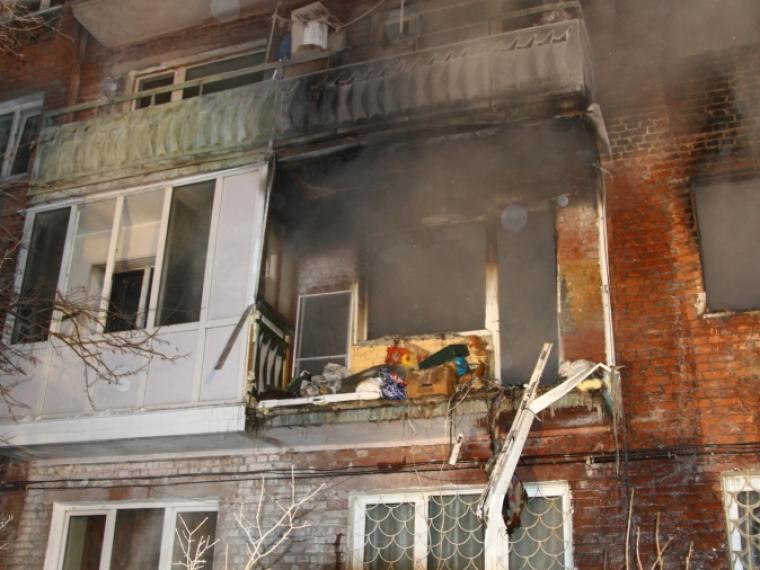 ВОмске взрыв газа поломал  несущую стену жилого дома
