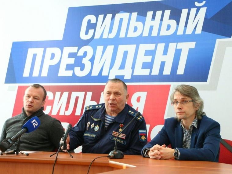 Владимир Путин встретился со своими доверенными лицами из Омска