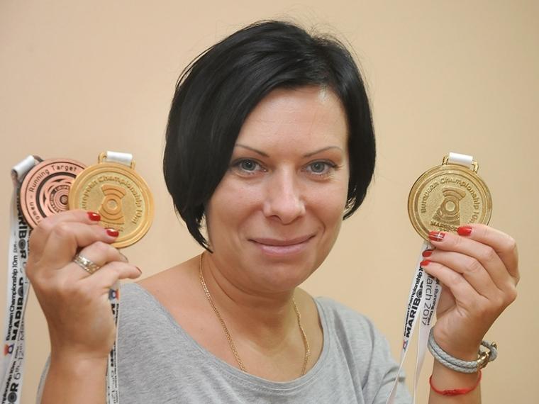 Липецкая спортсменка завоевала два «золота» вкомандном зачете пострельбе