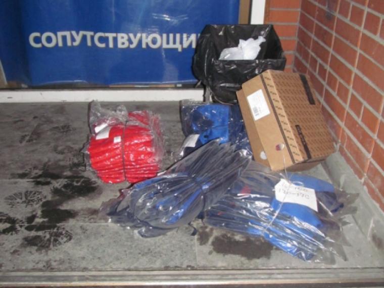 Нетрезвый мошенник вОмске, украв спецодежду, неуспел покинуть место правонарушения