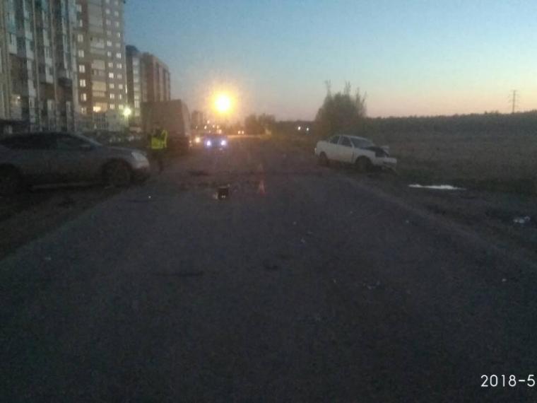 В Ленинском округе Омска в ДТП погиб водитель