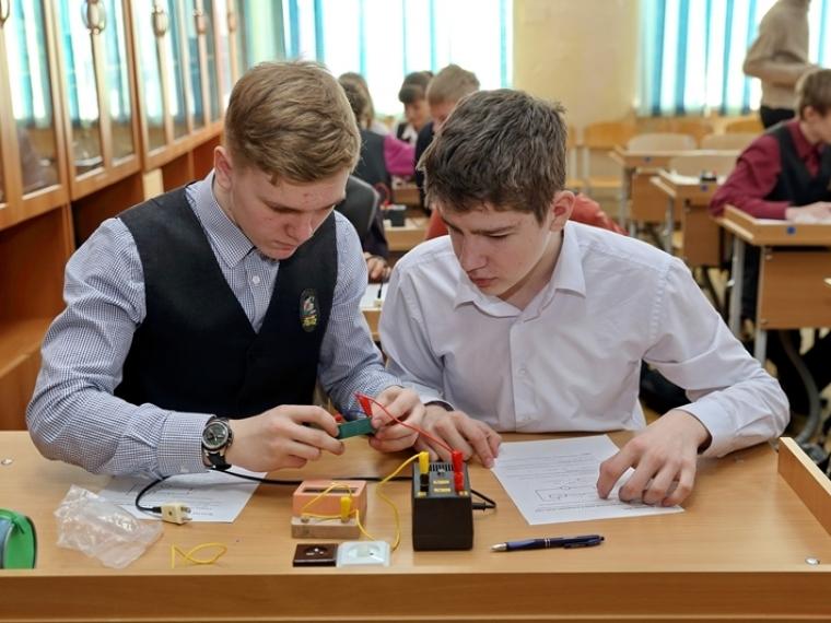 Омские выпускники все чаще выбирают экзамен по физике