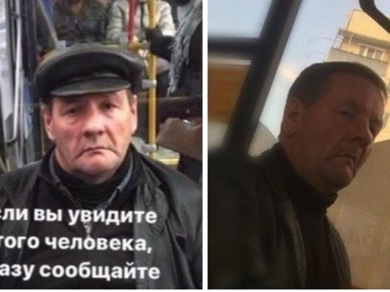 Омская полиция ищет мужчину, занимающегося непристойностями в автобусах