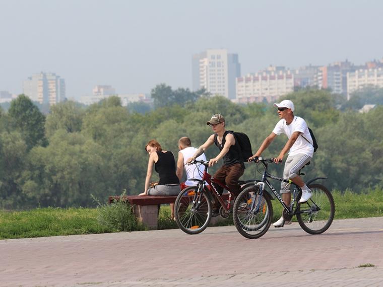Омичам предлагают найти и собрать виртуальный велосипед