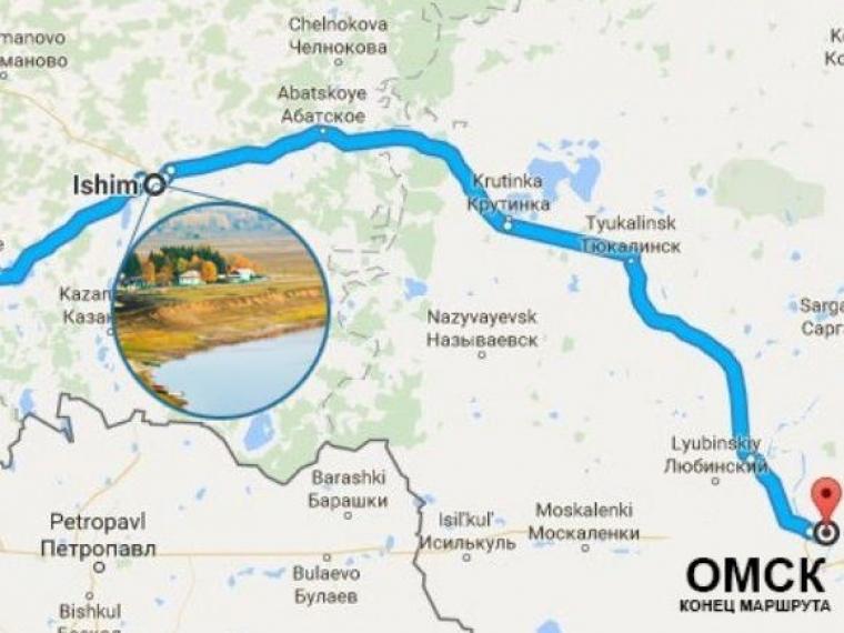 В Омской крепости финиширует автопробег «Путь Ермака. Из Урала в Сибирь»