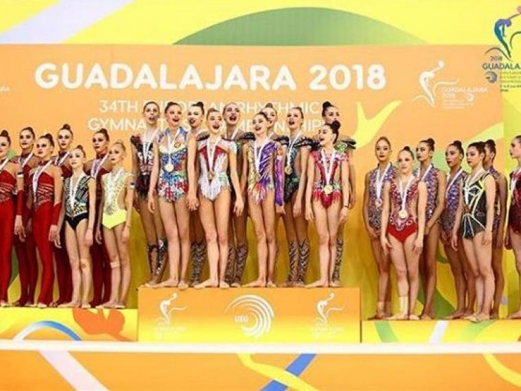 Две омские гимнастки стали чемпионками Европы в Испании